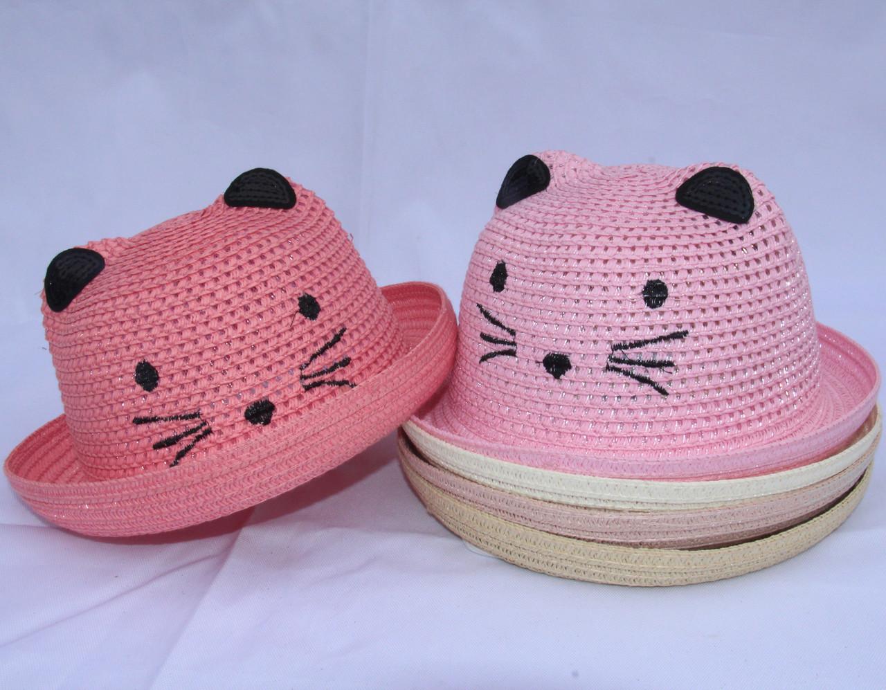 Капелюх для дівчаток р-р 50-52 (різні кольори) оптом недорого. Одеса.