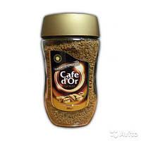 Кофе растворимый Cafe dоr Gold 200 г в стеклянной банке