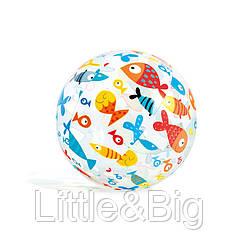Надувной мяч  59040 (Рыбки)