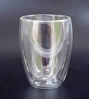 Стакан для кофе, латте двойное стекло 300 мл