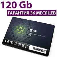 "SSD диск 120 Гб, Silicon Power Slim S56, SATA3, 2.5"", TLC, 560/530 MB/s (SP120GBSS3S56B25), ссд накопитель"