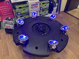 Плавающий фонтан Aqua Nova ANFF-55000 c LED цветной подсветкой