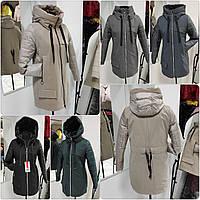 Стильная удлинённая демисезонная куртка-парка Solo SV-1, фото 1