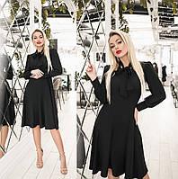 Елегантне плаття жіноче (4 кольори) ТК/-2187 - Чорний, фото 1