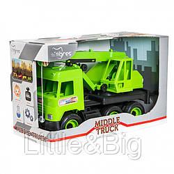 "Машинка  ""Middle truck"" кран 39483"