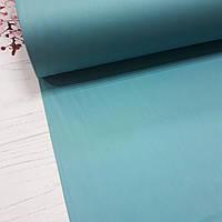 Сатин темно-бирюзовый для постельного белья, мерсеризованный (ТУРЦИЯ шир. 2,4 м) №31-48s