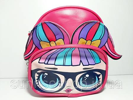 Рюкзак- сумка детский кожзаменитель, фото 2