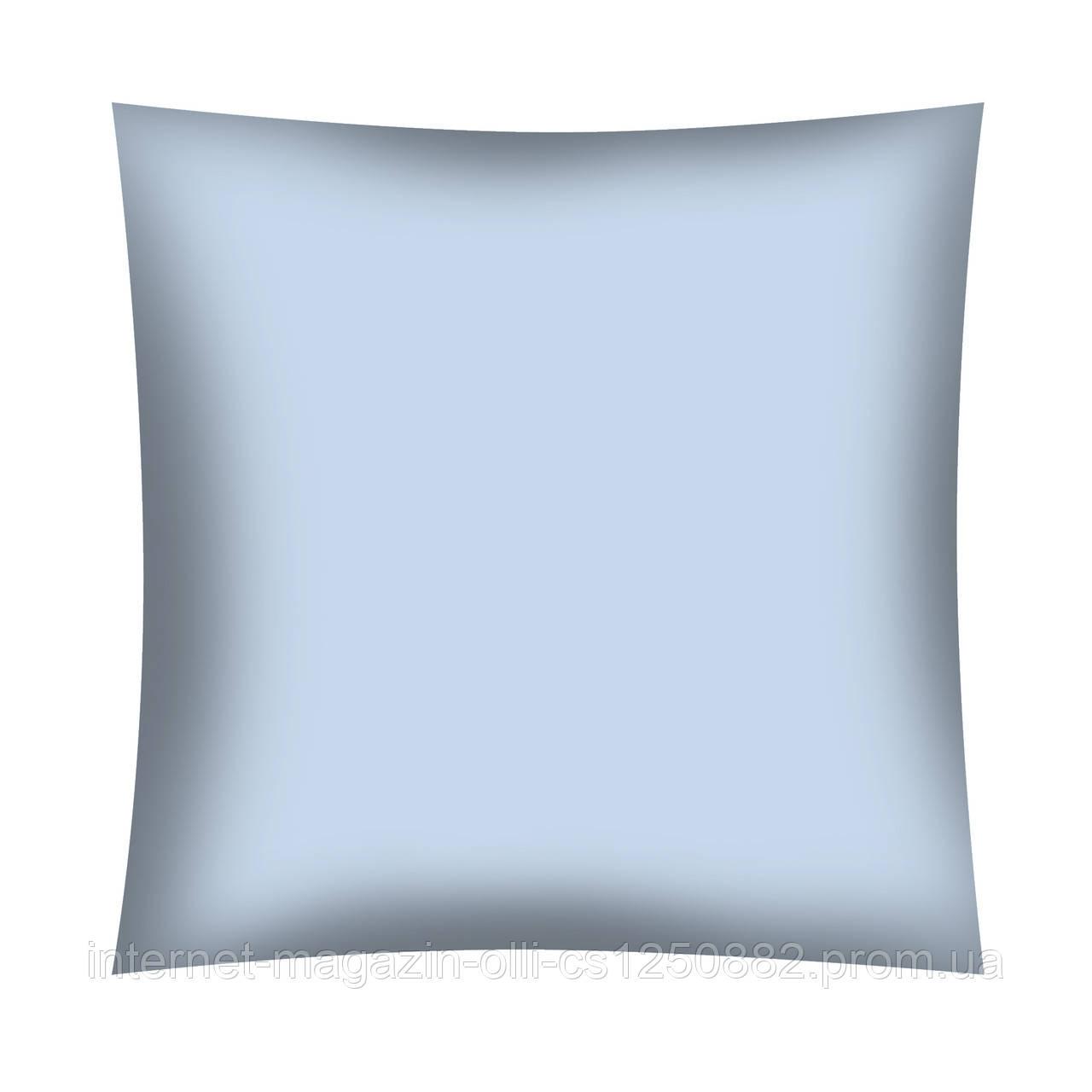 Ткань поплин De Luxe голубая однотонная (ТУРЦИЯ шир. 2,4 м) №32-62b