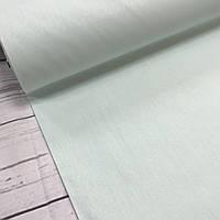 Ткань поплин De Luxe, однотонный бледно-мятный (Турция шир. 2,4 м) №32-64, фото 1