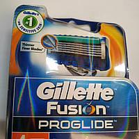 Gillette Fusion ProGlide кассеты для бритья (4 шт.) (Жиллет Фьюжин Проглайд), фото 1