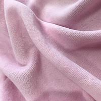 Велюр х/б светло-розовый, фото 1