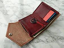 Символ любви | Кожаный кошелек ручной работы и амулет, фото 2