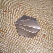 Акриловое зеркало «Сота» 46×40×23×1 мм 1 шт серебро