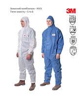 """Комбинезон защитный - 4515, защита от опасных веществ и радиоактивных частиц, тип защиты 5 и 6 """"ЗМ"""" (США)"""