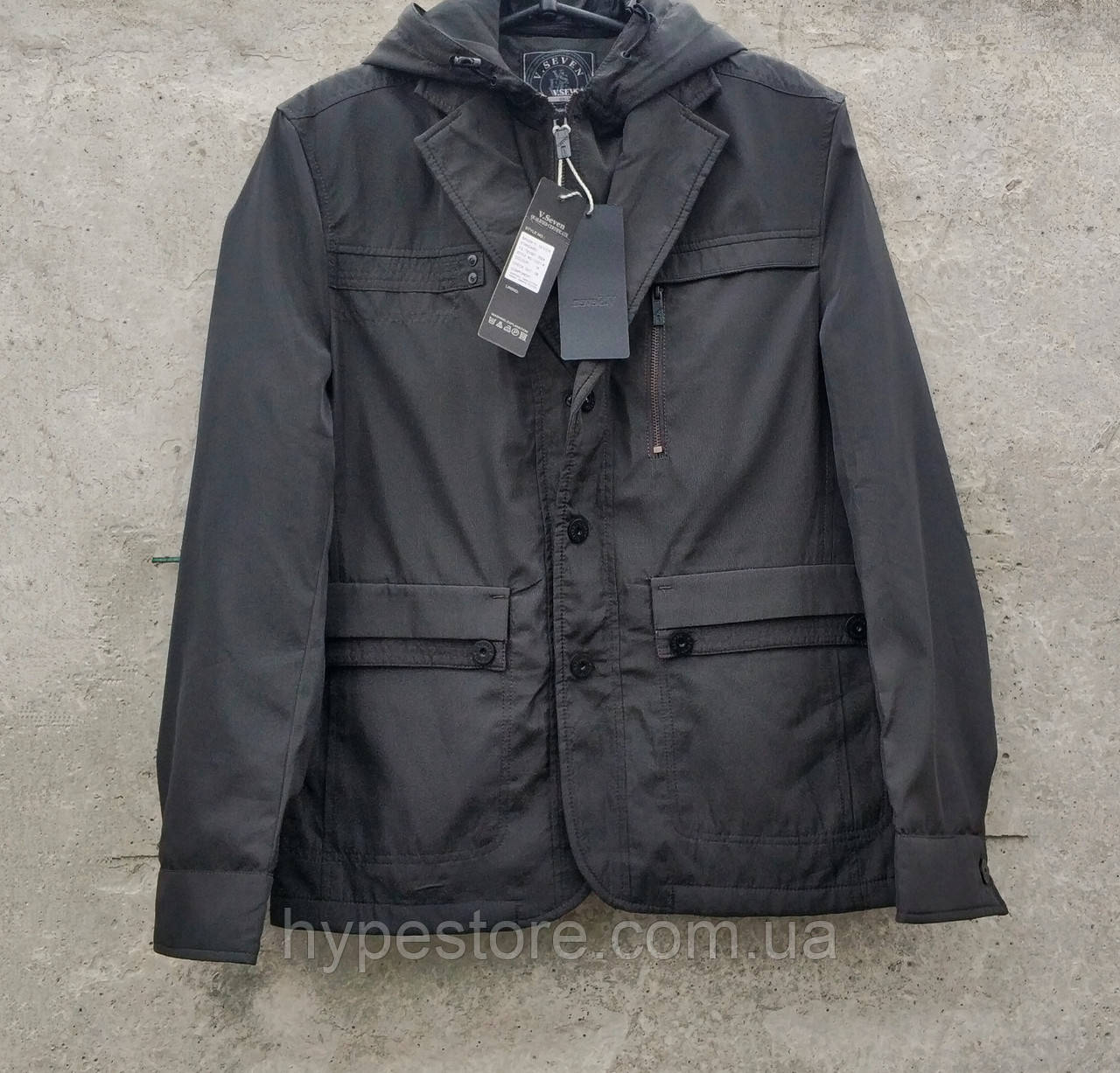 Куртка мужская отличного качества демисезонная, ветровка, р.46