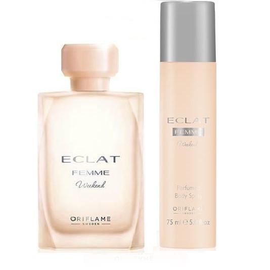 Парфюмерный набор Eclat Femme Weekend (Эклат Викенд) Oriflame