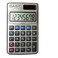 Карманный калькулятор Casio 3000, дисплей на 8 разрядов, питание от солнечной батареи, защитный чехол