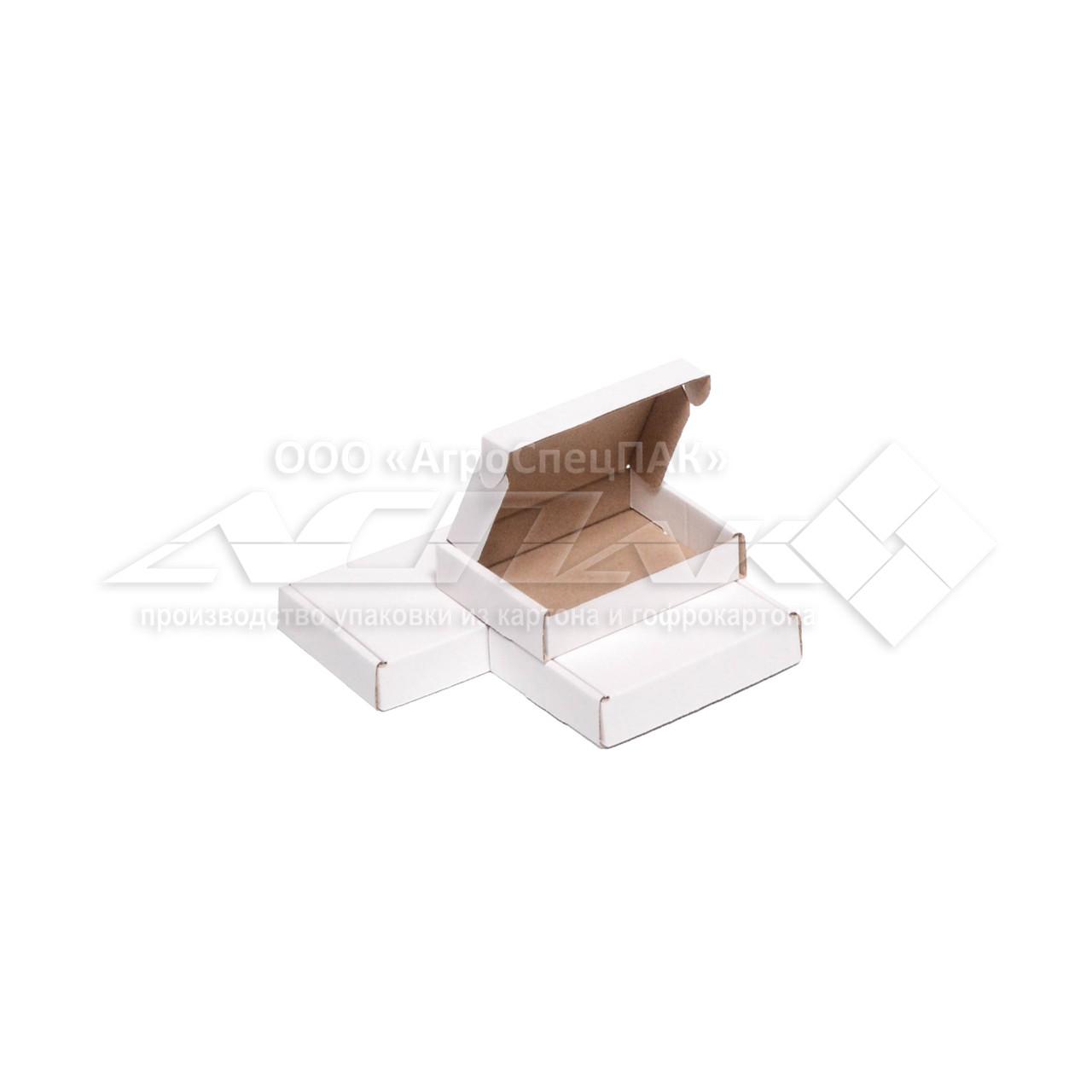 Картонные коробки 98x76x21 белые