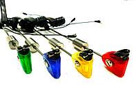 Набор свингеров 4 шт в кейсе с системой фиксации лески коромысло, фото 1