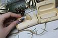 Деревянная флешка «Овал» с индивидуальной гравировкой Клен с окантовкой на 32Gb (3.0) в шкатулке, фото 2