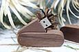 Дерев'яна розкладна флешка «Швейцарський ніж» з індивідуальним гравіюванням Горіх на 64Gb (2.0), фото 2