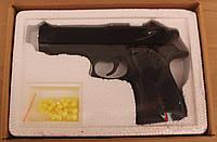 Zm21 железный на пульках, игрушечное оружие для детей, пластик и метал