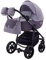 Детская коляска 2 в 1 Adamex Hybryd Plus BR206 темно-сиреневый кожа - сиреневый, фото 1