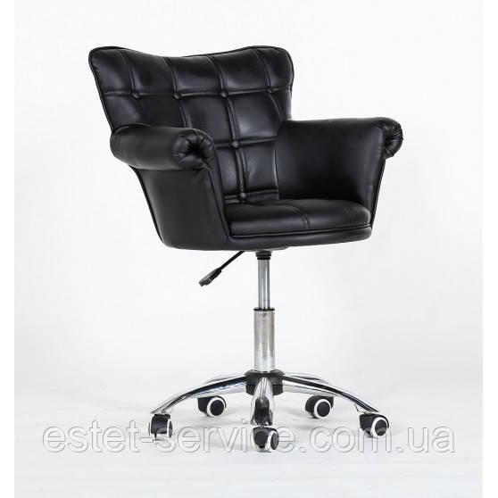 Кресло для мастера маникюра HС804К на колесах в ЦВЕТАХ кожзам