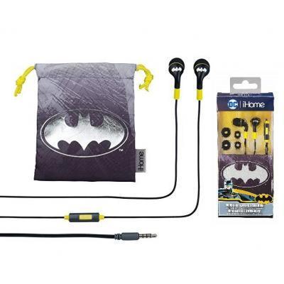 Наушники eKids iHome Warner Bros BatMan Mic (RI-M15BM.FXV7)