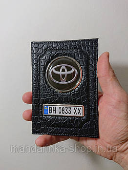 Обложка гос.номер Toyota