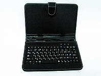 Чехол клавиатура для планшета 7 Rus MicroUSB Black