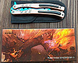 Нож бабочка тренировочный Counter Strike Go градиент, фото 4