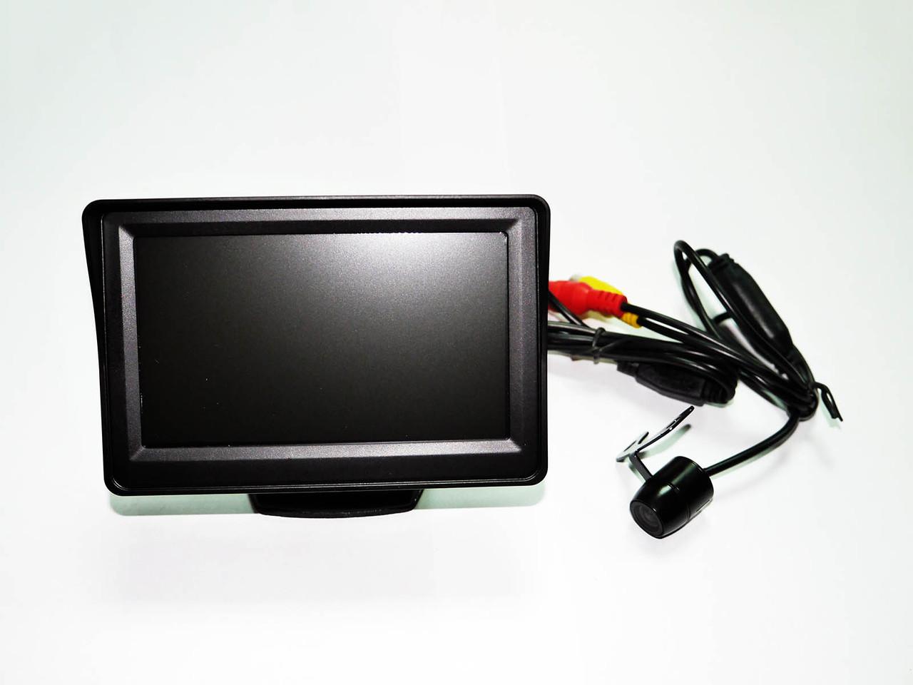 Система заднего вида: монитор 4.3'' + камера