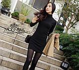 """Женское трикотажное платье-гольф """"Amaretto"""", фото 7"""