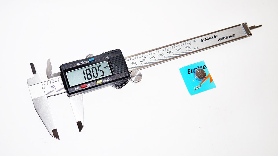 Штангенциркуль цифровий Digital Caliper