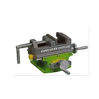 Координатные тиски для сверлильного (фрезерного) станка, тиски BG-6368 (губки 75 мм)
