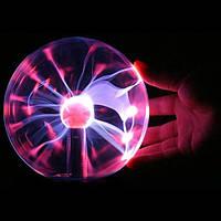 "Ночник Magic Flash Ball плазменный шар 5"", фото 1"