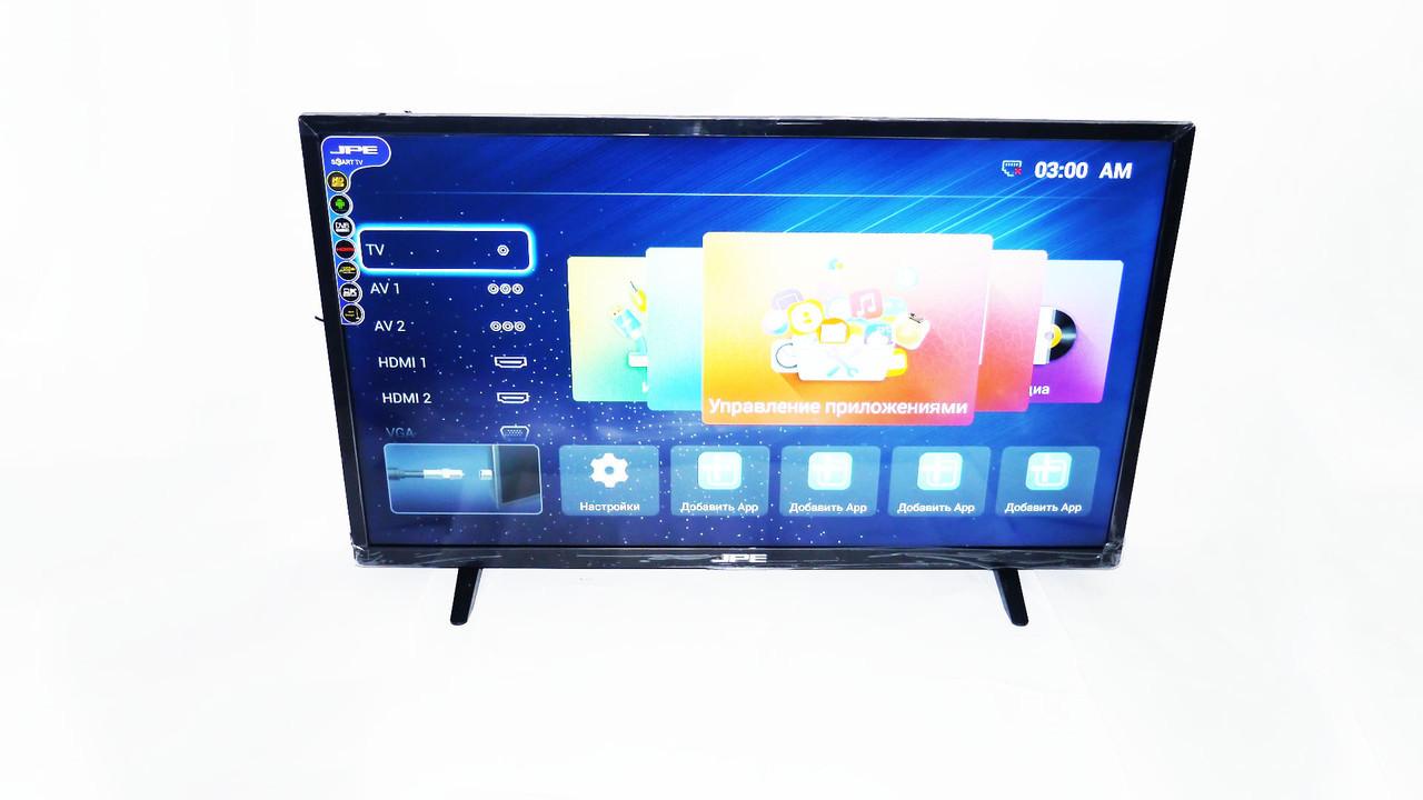 "LCD LED Телевизор JPE 39"" Smart TV, WiFi, 1Gb Ram, 4Gb Rom, T2, USB/SD, HDMI, VGA, Android 4.4"