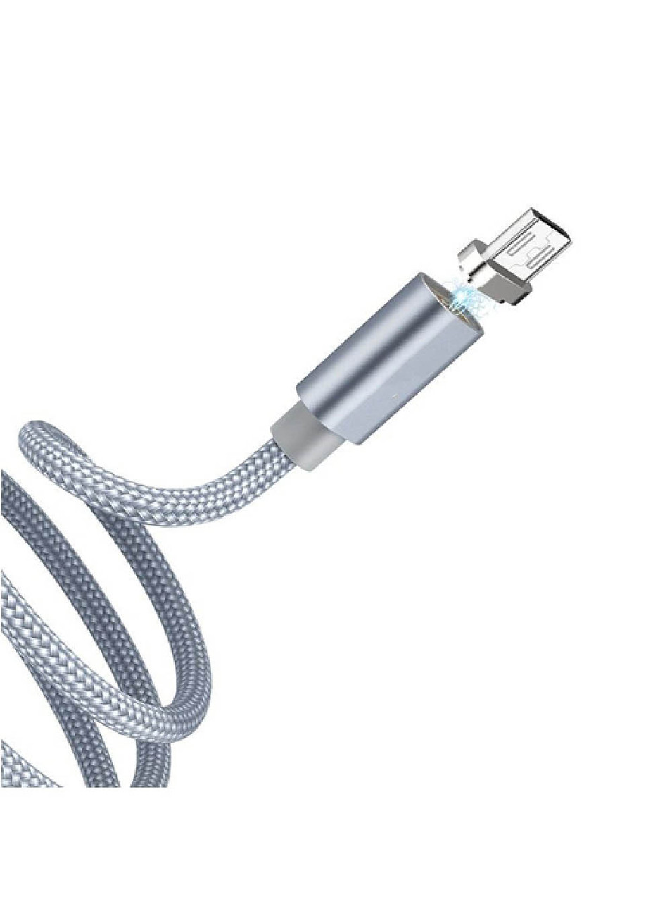 Магнитный кабель USB - microUSB