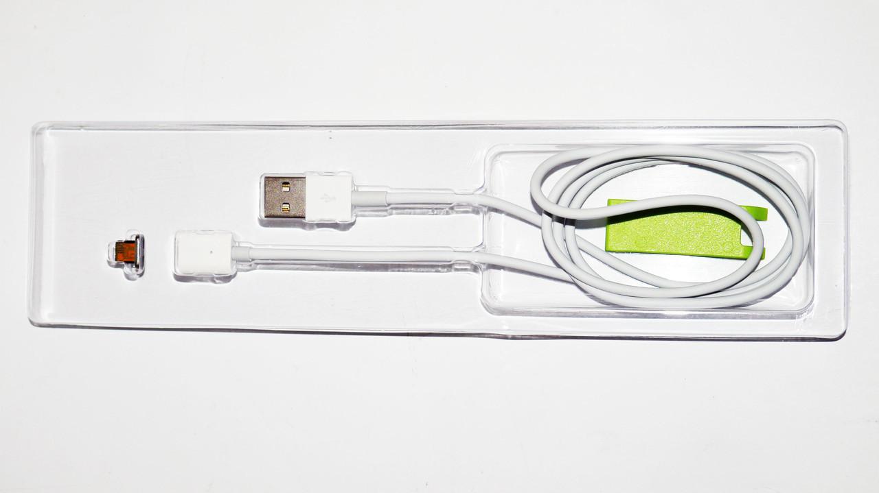Магнитный кабель USB - iPhone Lightning - Белый