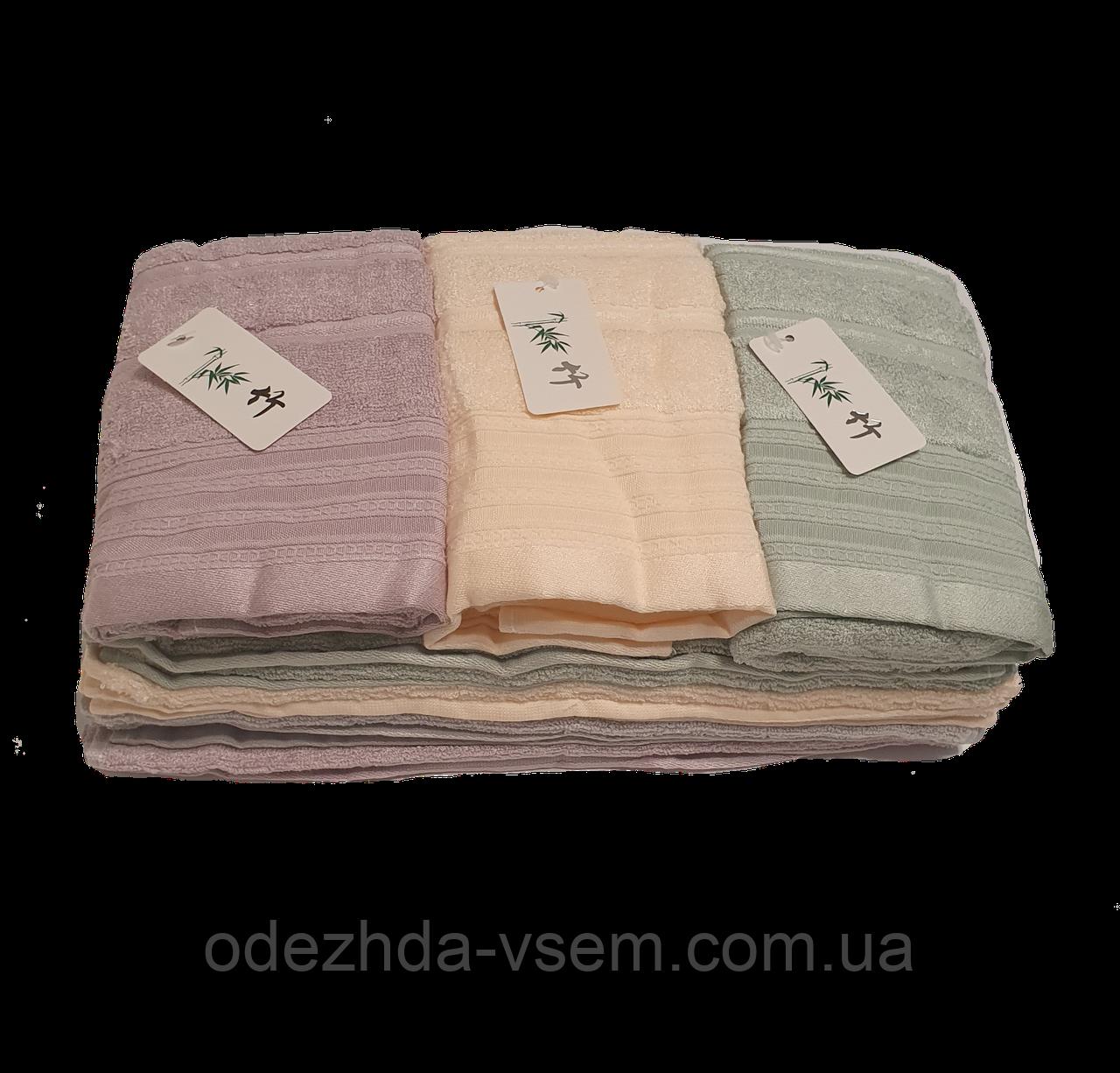 Качественные махровые полотенца  70*35см
