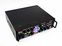 Підсилювач звуку Kiseki AV-339B + USB + Fm + Mp3 + КАРАОКЕ + Bluetooth, фото 1
