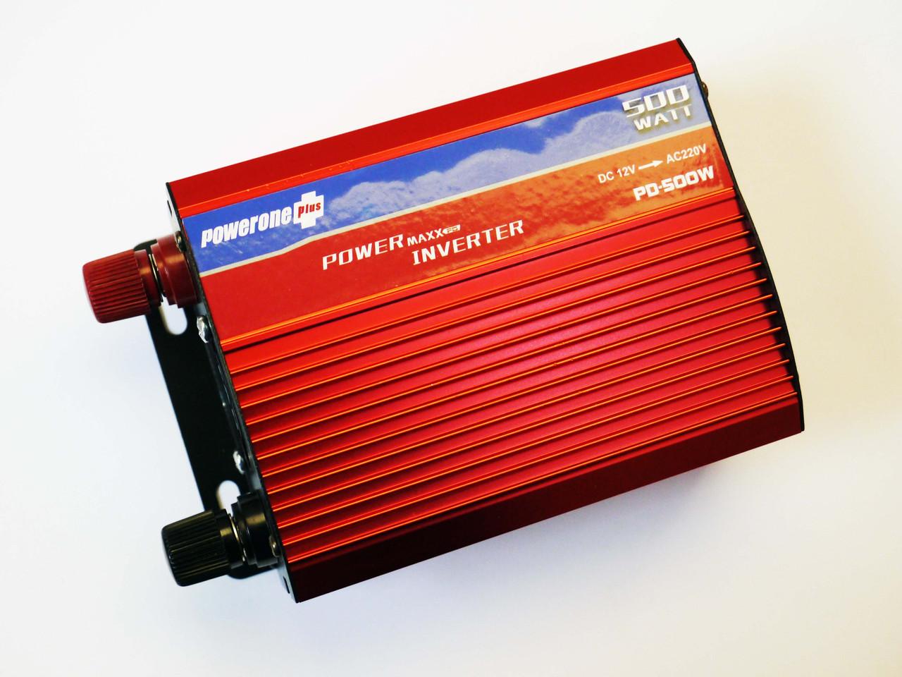 Инвертор 500W 12V с вольтметром Powerone