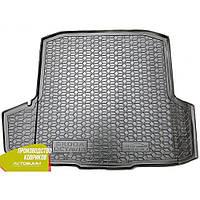 Авто коврик в багажник Skoda Octavia A7 2013- Universal (с ушами) (Avto-Gumm) Автогум