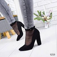 Туфли женские Solo черные 9259, фото 1