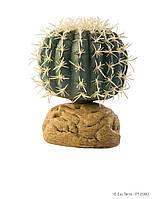 Растение ExoTerra Barrel Cactus small