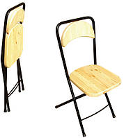 Складной стул массив 380х450х860