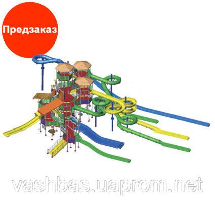 Arihant Комплекс водных горок Arihant WAPS 16А (45.0х30.0 м)