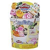 Пластилін Play-Doh Набір морозива Роли Rollzies Ice Cream Hasbro E8055