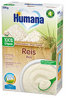 Хумана. Каша безмолочная органическая рисовая, 200г, с 6-х мес. (4031244775665)